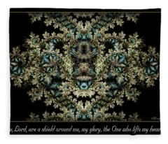 Shield Around Me Fleece Blanket