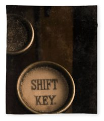 Shift Key Fleece Blanket