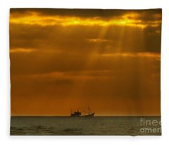 Ship Rest Fleece Blanket