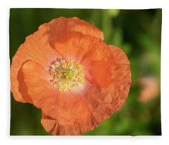Shirley Poppy 2018-13 Fleece Blanket