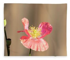 Shirley Poppy 2018-14 Fleece Blanket