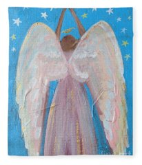 Shooting Star Angel Fleece Blanket