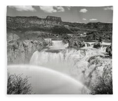 Shoshone Falls Fleece Blanket
