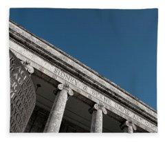 Sidney And Berne Davis Art Center - Ft. Myers, Florida Fleece Blanket