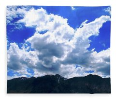 Sierra Nevada Cloudscape Fleece Blanket
