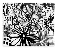 Sightseeing 2- Art By Linda Woods Fleece Blanket