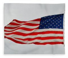 Sign Of Freedom Fleece Blanket