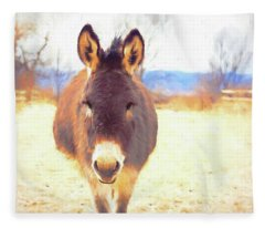 Silent Approach Fleece Blanket