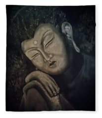 Silent Meditations Fleece Blanket
