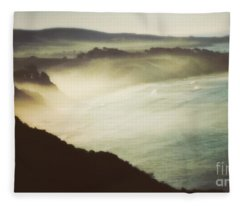 Silent Morning  Fleece Blanket