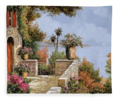 Villa Fleece Blankets