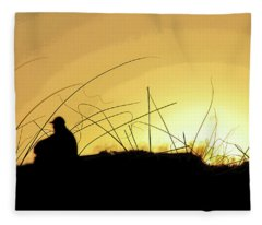 Lonely Times Fleece Blanket