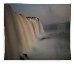 Silk Torrent Fleece Blanket