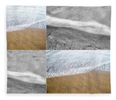 Silver Linings Collage Fleece Blanket