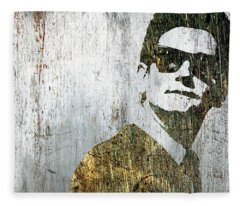 Silver Roy Orbison Fleece Blanket