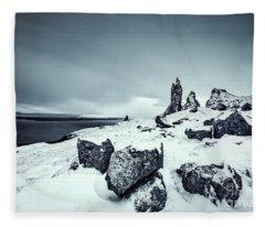 Silver Skye Fleece Blanket