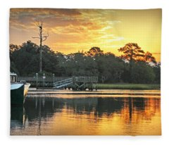 Simple Pleasures Fleece Blanket
