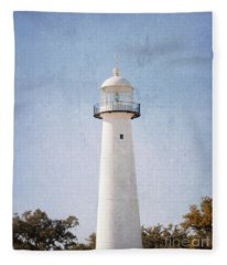 Simply Lighthouse Fleece Blanket