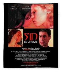 Sin By Murder Poster A Fleece Blanket