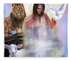 Since Before Abraham I Am Fleece Blanket