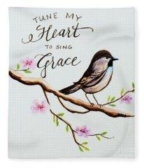 Sing Grace Fleece Blanket