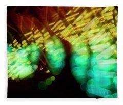 Singapore Night Urban City Light - Series - Your Singapore Fleece Blanket