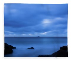Singing The Blues, Singing Beach   Fleece Blanket