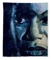 Sinnerman - Nina Simone Fleece Blanket