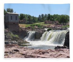 Sioux Falls Fleece Blanket