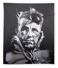 Sir Edmund Hillary Fleece Blanket