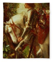 Sir Galahad Fleece Blanket