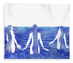Sirens Call Fleece Blanket
