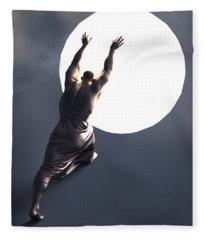 Sisyphus Lamp 05 Fleece Blanket