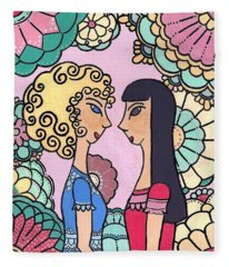 Sisters - Acrylic Fleece Blanket
