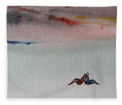 Six Seasons Dance Six Fleece Blanket