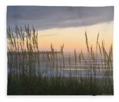 Sixth Of July Sunrise Fleece Blanket
