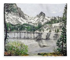 Skelton Lake Fleece Blanket
