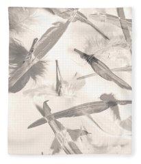 Skies Of A Feather Fleece Blanket