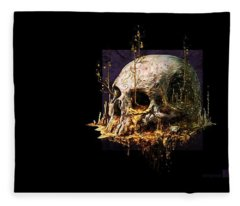 Skull Fleece Blanket