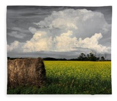 Sky Bale Fleece Blanket