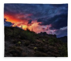 Fleece Blanket featuring the photograph Sky Candy by Rick Furmanek