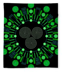 Sky Chief Color Fleece Blanket