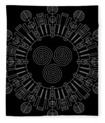 Sky Chief Inverse Fleece Blanket