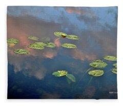 Sky Meets Water Fleece Blanket
