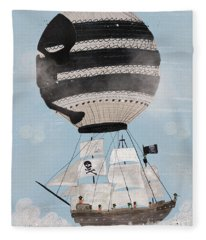 Sky Pirates Fleece Blanket