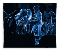 Blues In Spokane Fleece Blanket