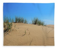 Sleeping Bear Sand Dunes Fleece Blanket