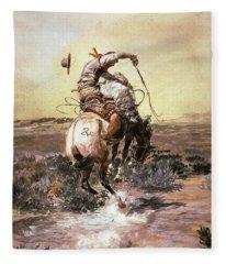 Slick Rider Fleece Blanket