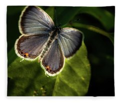 Small Beauty Fleece Blanket