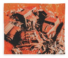 Smashem Crashem Cars Fleece Blanket